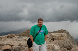 A wee bit chilly 14,000 feet up on Mt. Evans