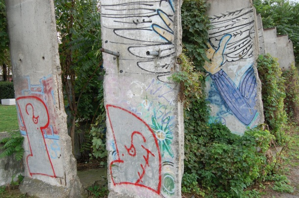 Germany Berlin Wall Memorial Preserved Sections
