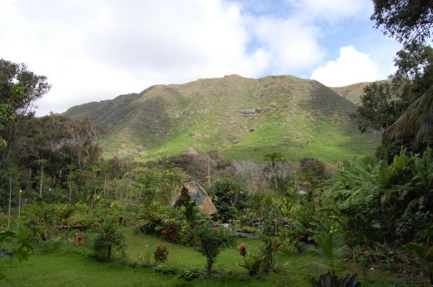 Hawaii Molokai Halawa Valley Hut