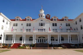 Outside the Stanley Hotel Estes Park Colorado