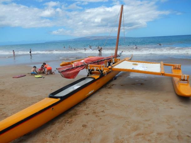 Maui Sailing Canoe