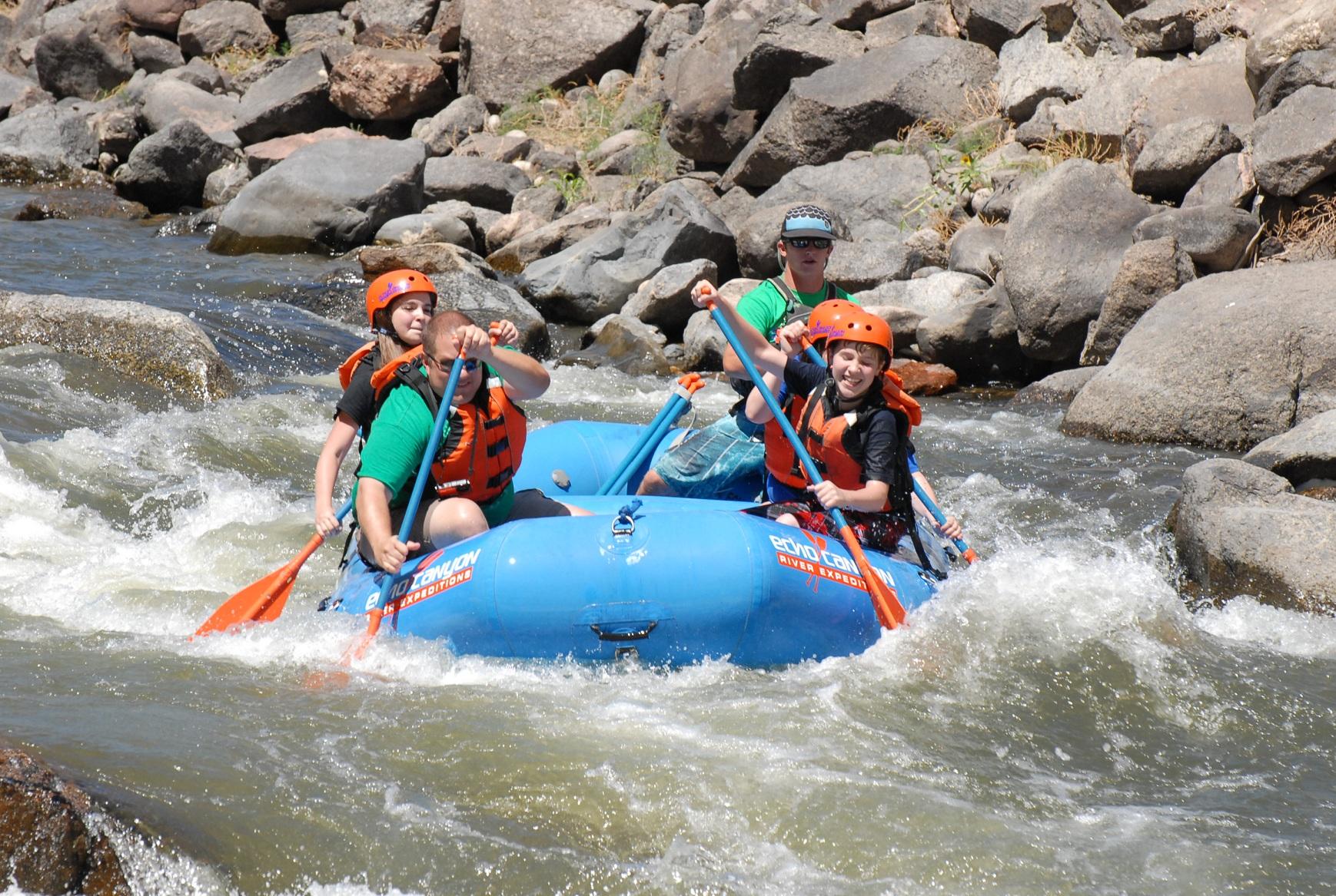 Echo canyon river expeditions arkansas river rafting photo 1