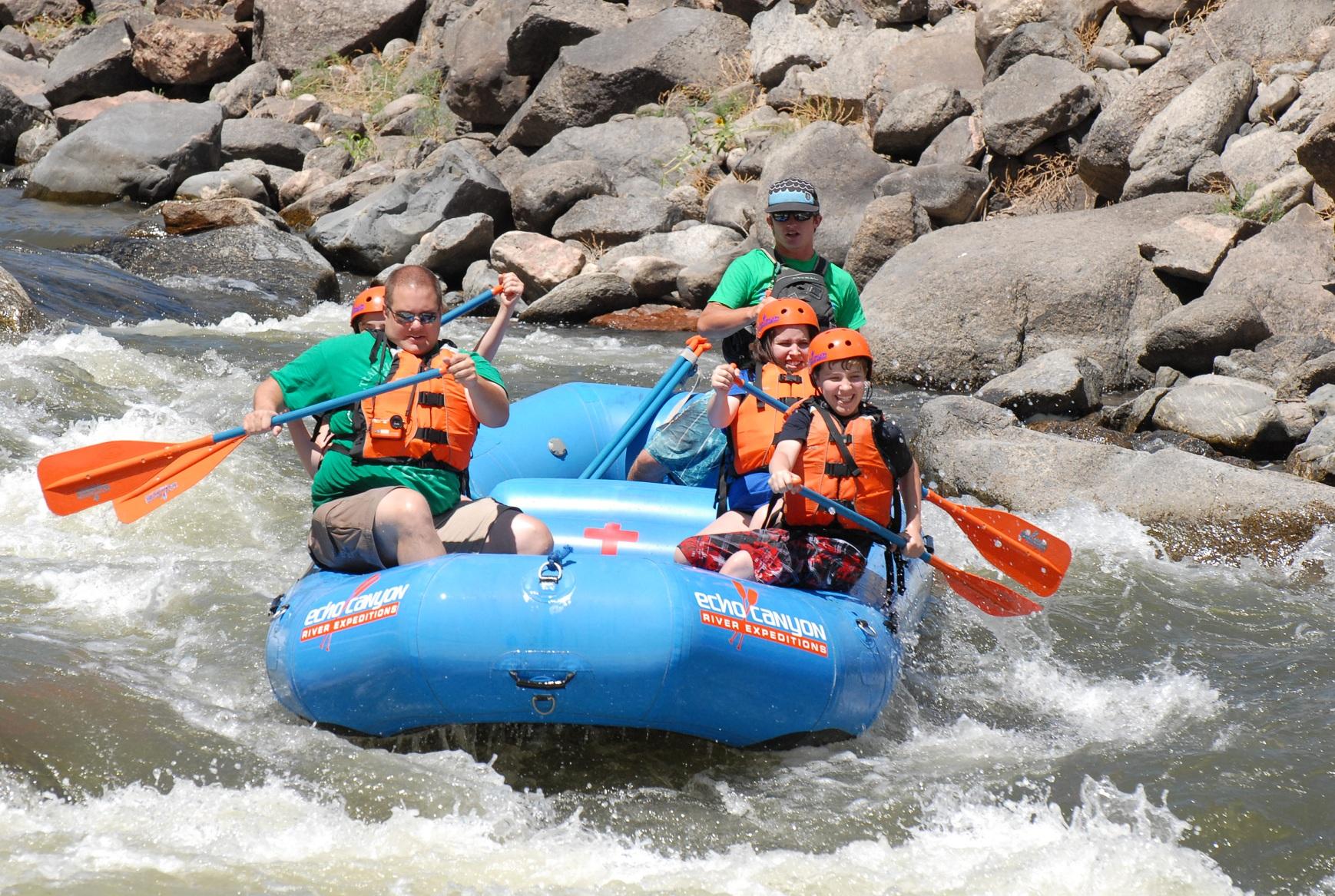 Echo canyon river expeditions arkansas river rafting photo 2