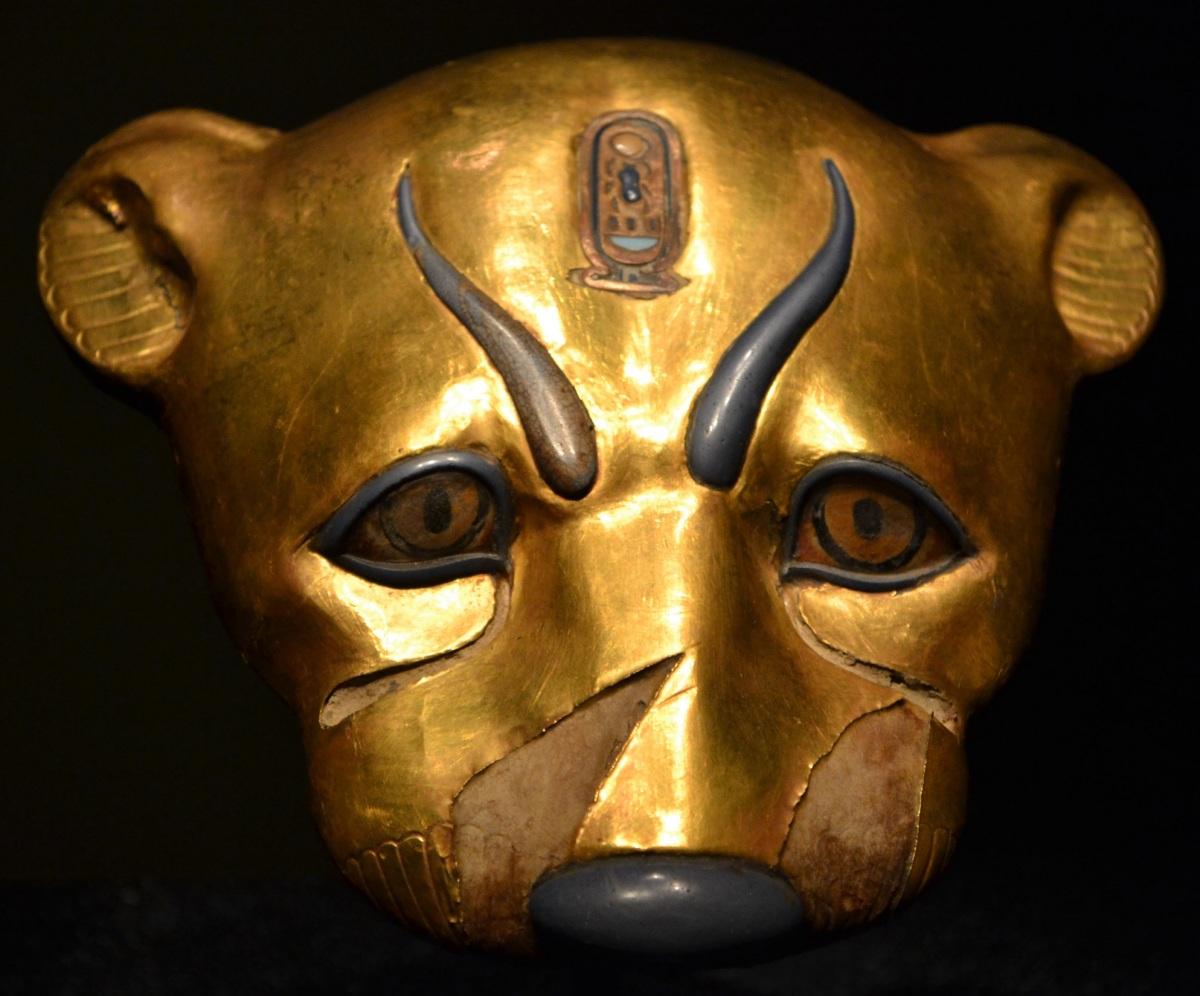 King Tut's Golden Head of a Leopard | Jason's Travels