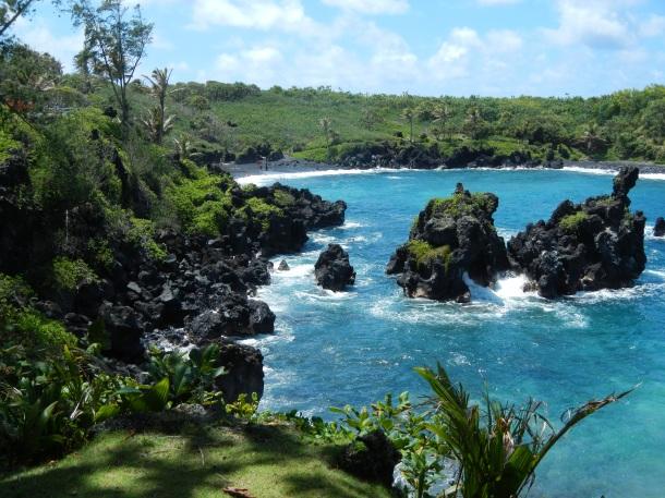 Maui Hawaii Road to Hana Wainapanapa State Park Overlook