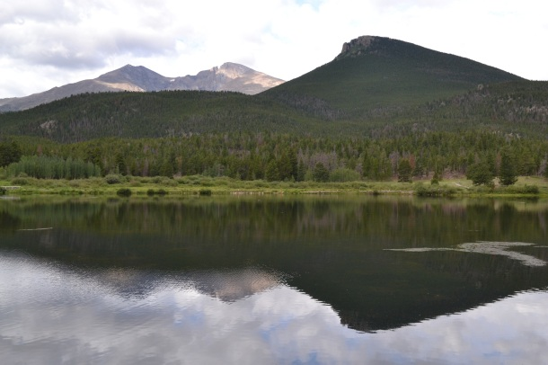 Lily Lake and Longs Peak