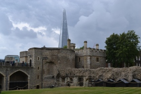 """The Shard"" from the Tower of London"