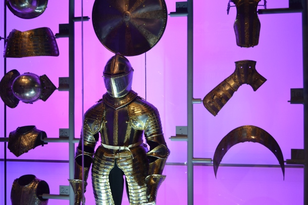 The Armor of King Charles II in the Tower of London