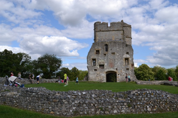 Spending a Day on the Donnington Castle Grounds