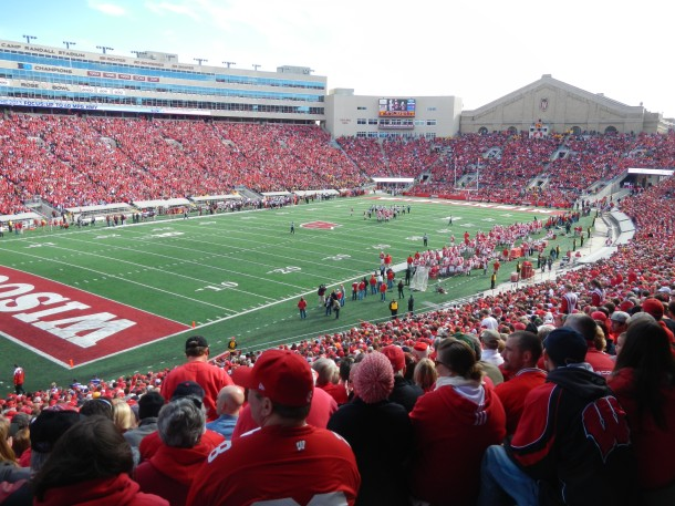 Wisconsin Minnesota Football Madison Camp Randall Stadium