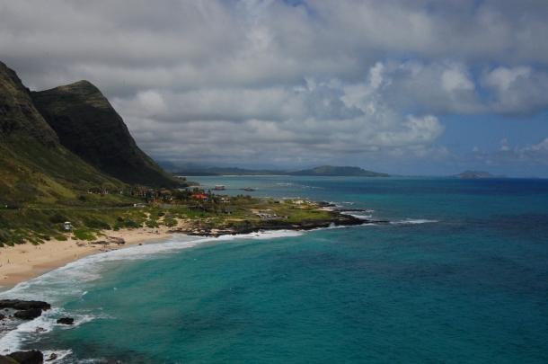 Hawaii Oahu Coastline from Makapuu
