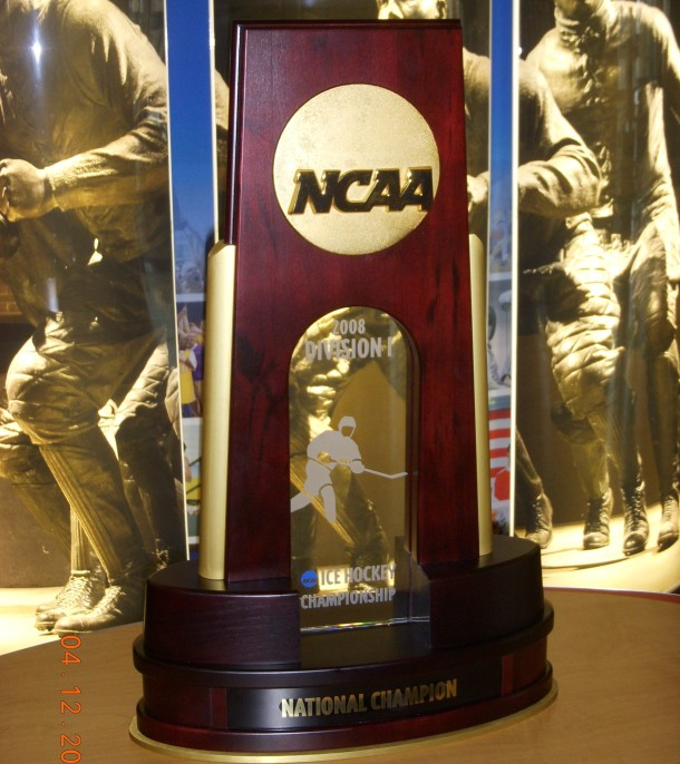 2008 NCAA Hockey Championship Trophy
