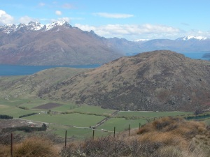 The Misty Mountains from The Lord of the Rings is actually the Remarkables by Queenstown