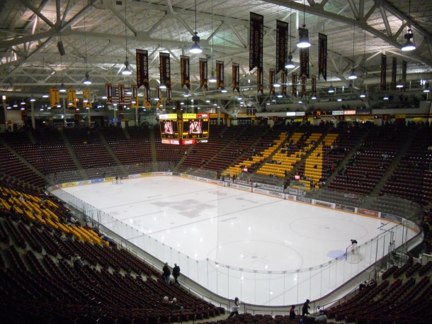 University of Minnesota Empty Mariucci Arena