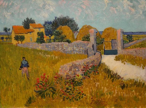 Farmhouse in Provence, 1888