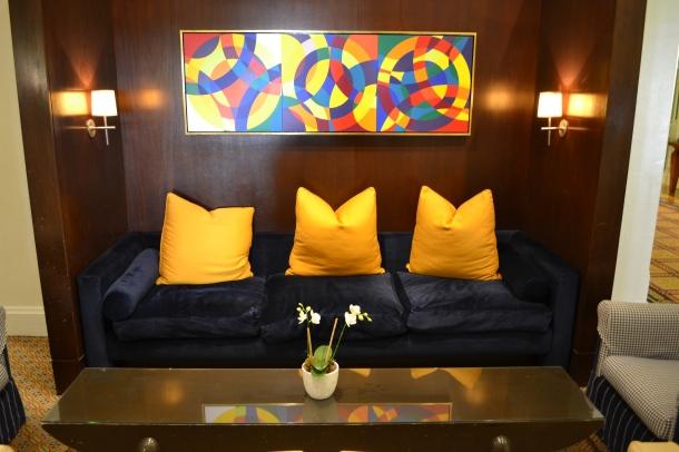 Hotel Monaco Washington DC Lobby Couch