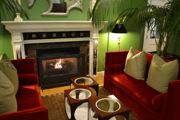 Hotel Monaco Washington DC Lobby Fireplace