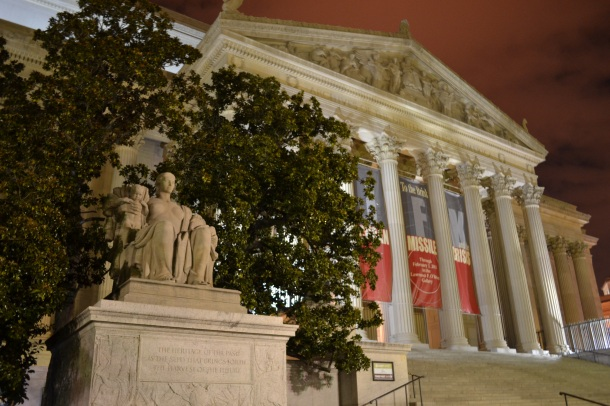 The National Archives, home to the Charters of Freedom