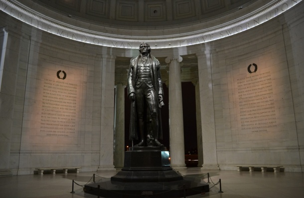 Inside the Jefferson Memorial
