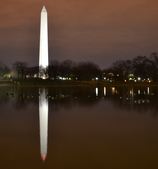 The Washington Monument from the Declaration of Independence Memorial