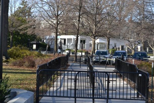 White House Tour Entrance Checkpoint