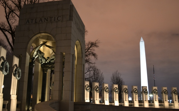 The Washington Monument from the World War II Memorial