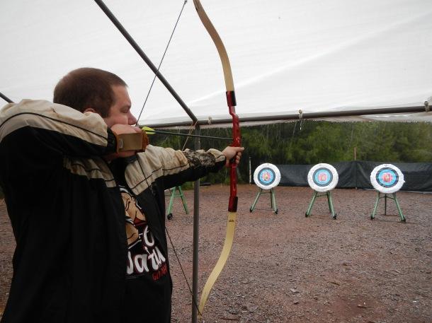 Archery with Lanai Grand Adventures Ride and Shoot Lanai Hawaii
