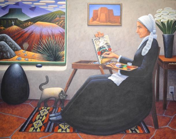 David Bradley's O'Keeffe, After Whistler ~ 2007