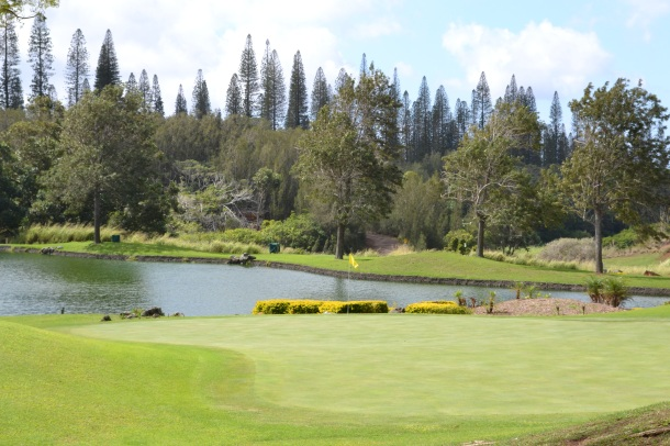 Four Seasons Koele Lodge Golf Course Lanai Hawaii