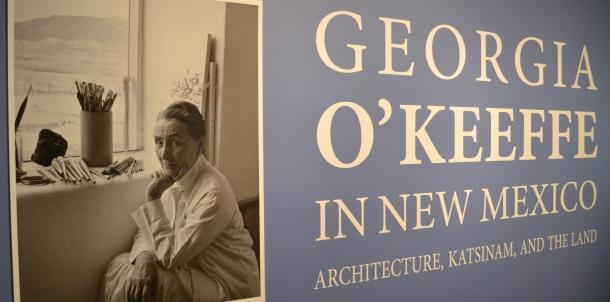 Georgia O'Keeffe at the Denver Art Museum