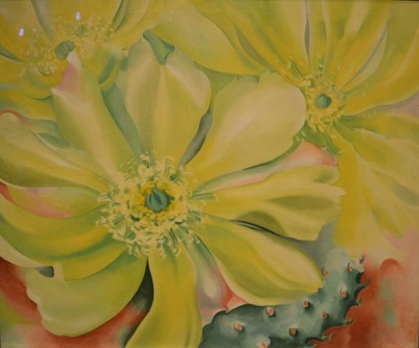 Yellow Cactus ~ 1935