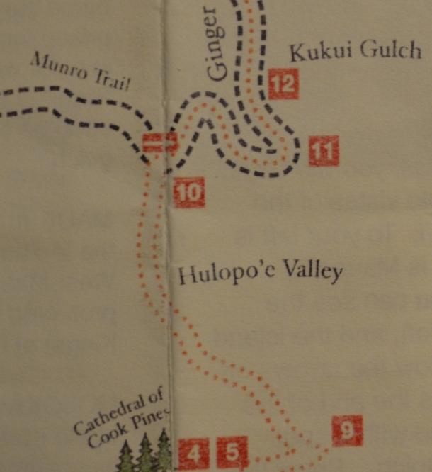 Koloiki Trail Map 2 Lanai Hawaii