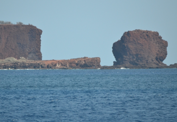 Sweetheart Rock Lanai Hawaii
