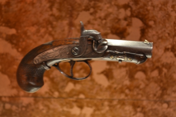 The gun used to assassinated President Lincoln