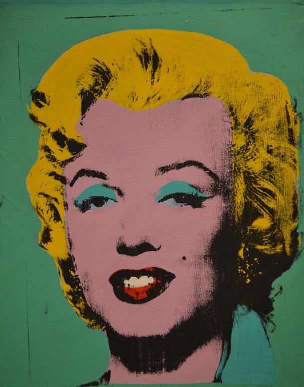 Warhol's Green Marilyn, 1962