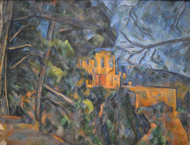 Cezanne's Cheaeau Noir, 1900