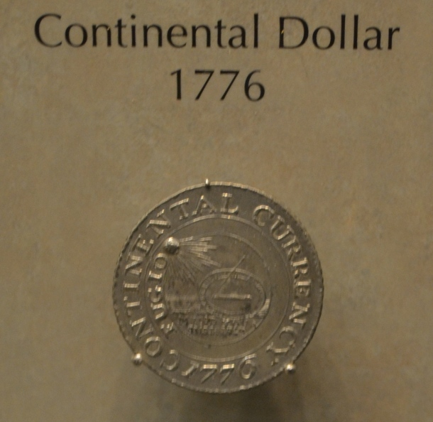 A Continental Dollar from 1776