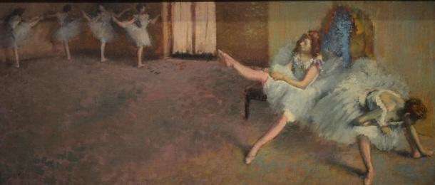 Degas' Before the Ballet,1890