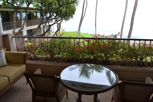 My Manele Bay balcony