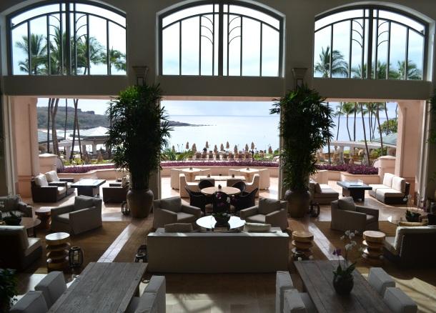 Manele Bay's lobby view