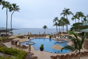 Manele Bay's pool