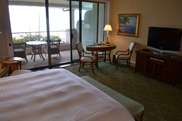 My Manele Bay room