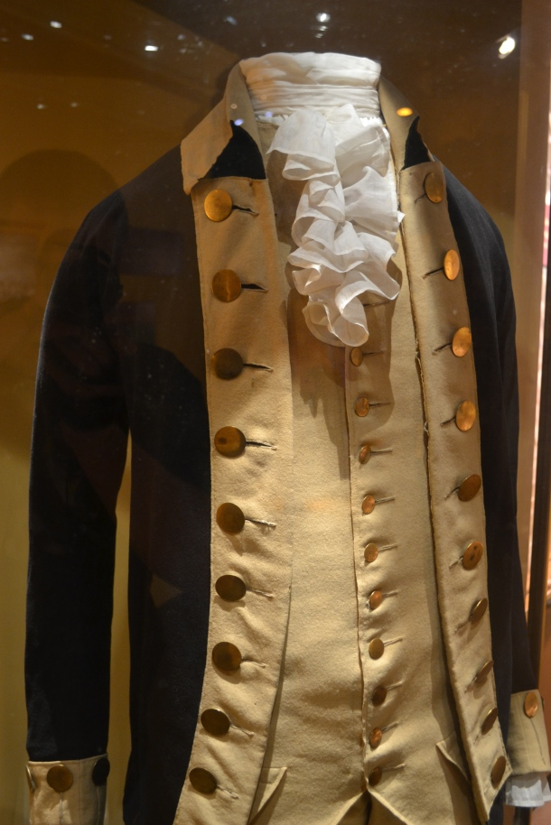 George Washington's uniform during the Revolutionary War