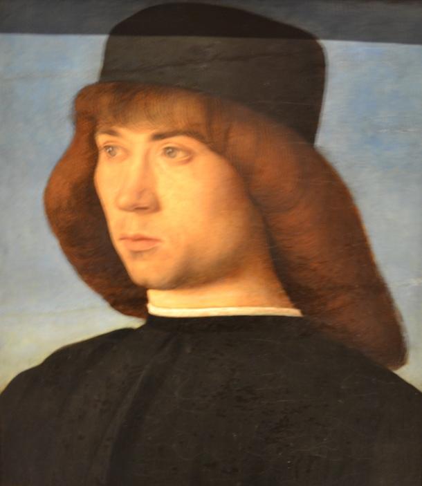 Bellini's Portrait ofa  Young Man, 1490