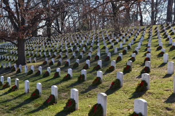 Gravesites at Arlington National Cemetery