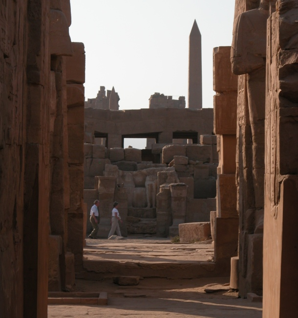 Wandering the grounds of Karnak