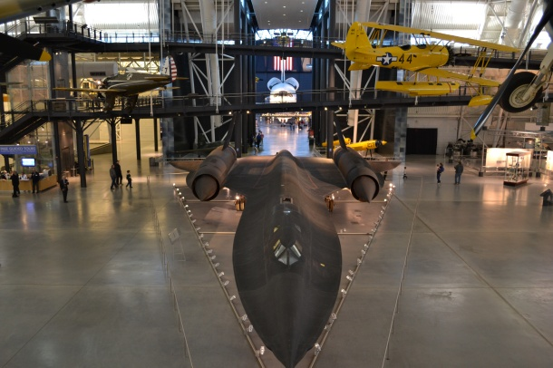 The Blackbird and Space Shuttle Discovery