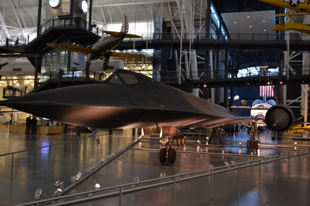 Lockheed's SR-71A Blackbird