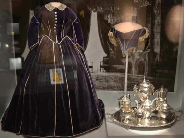 Mary Todd Lincoln's Dress is in the First Ladies hall