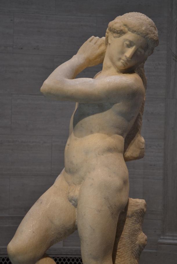 Michelangelo's David-Apollo was on loan